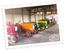Collection of tractors AVAIA