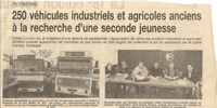 Column in 1997 in the newspaper LA MONTAGNE