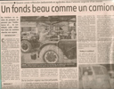 Column in March 2007 in the newspaper LA MONTAGNE