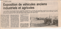 Column in 1999 in the newspaper LA MONTAGNE
