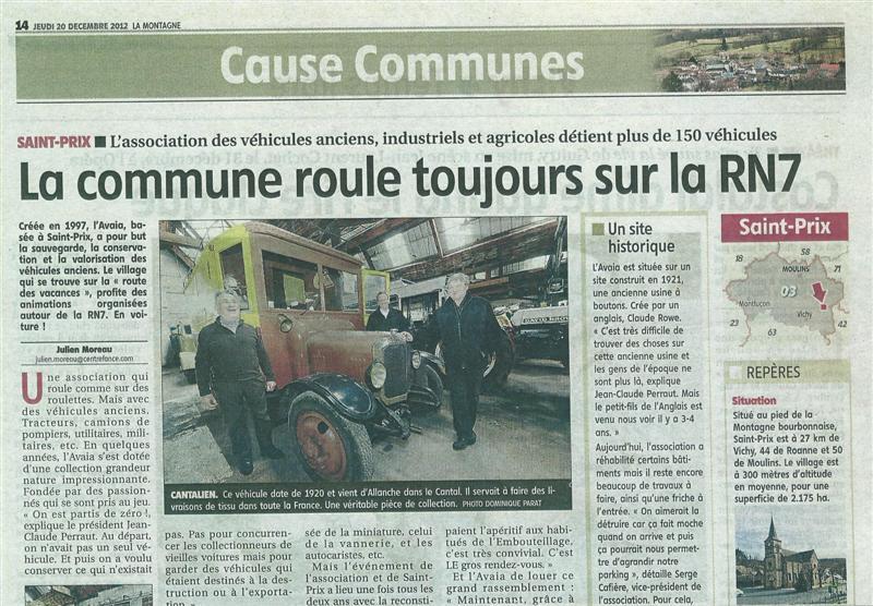 journal la montagne edition moulins